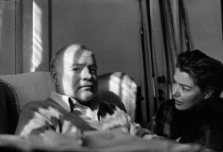 Fernanda Pivano e Ernest Hemingway - archivio gonews.it