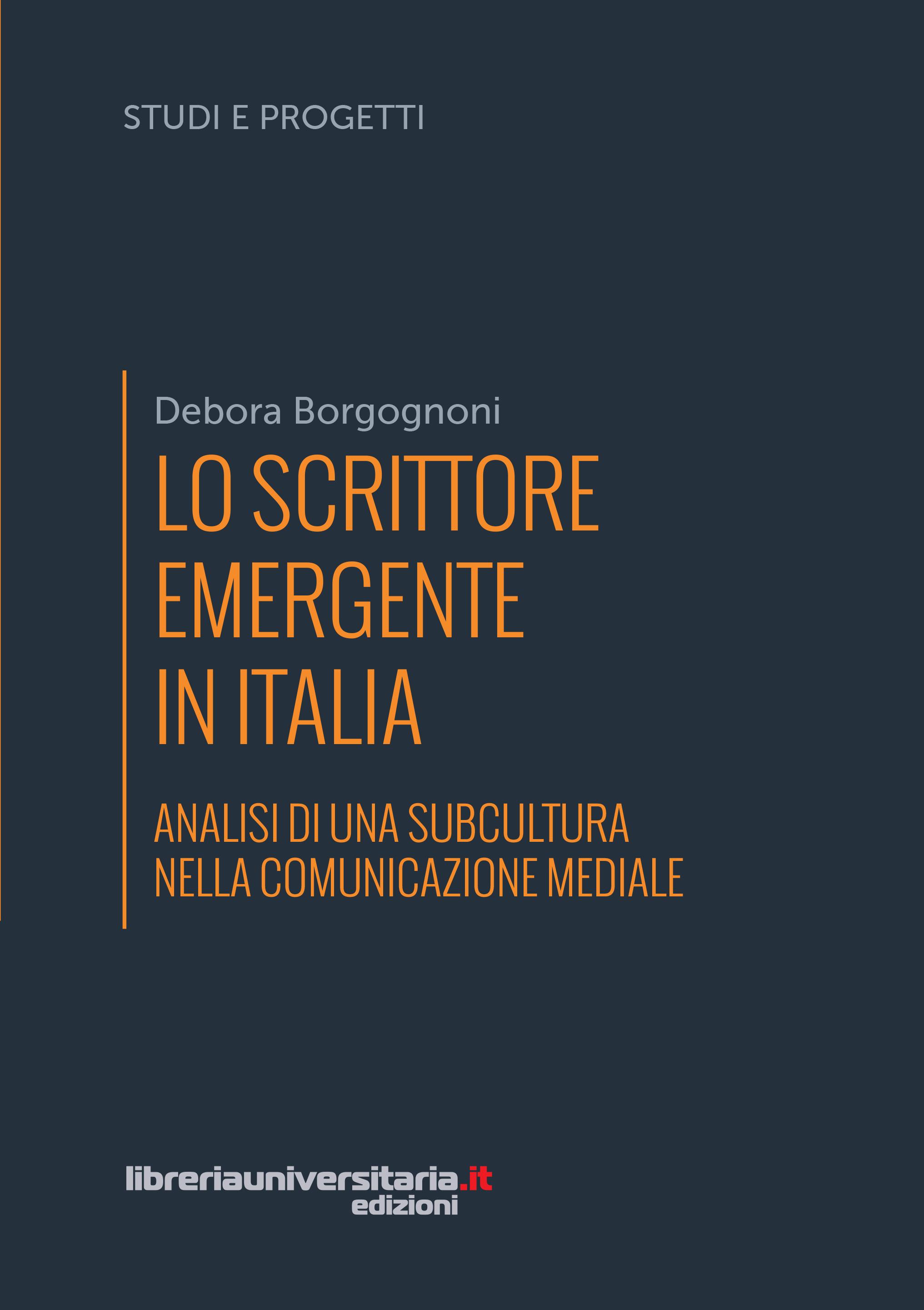 lo scrittore emergente in Italia